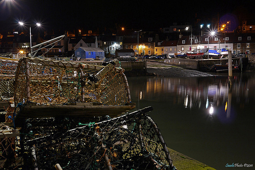 Lobster Pots, St Monans, East Neuk, Fife